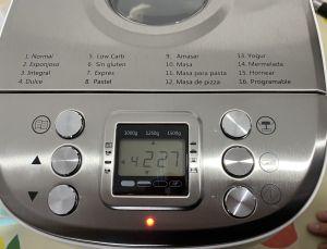 receta de brioche con pepitas de choclate en la panificadora lidl