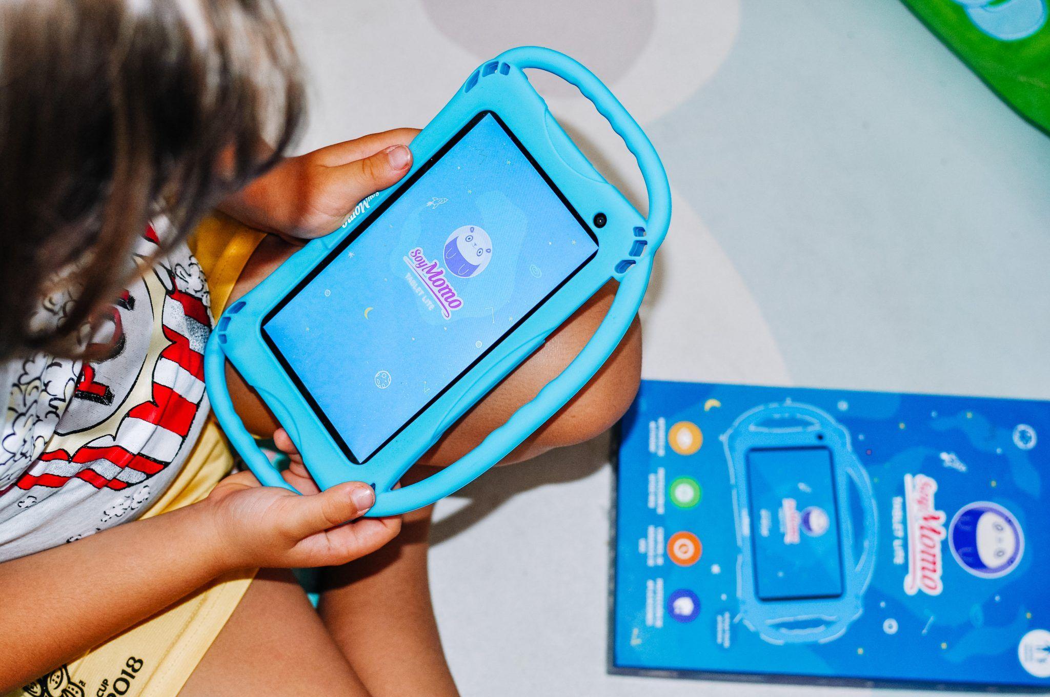 Tablet para niños SoyMomo, su primera tablet