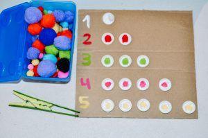 Actividades para trabajar los números