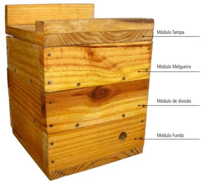 Modelo de Caixas INPA para Abelhas sem Ferrão