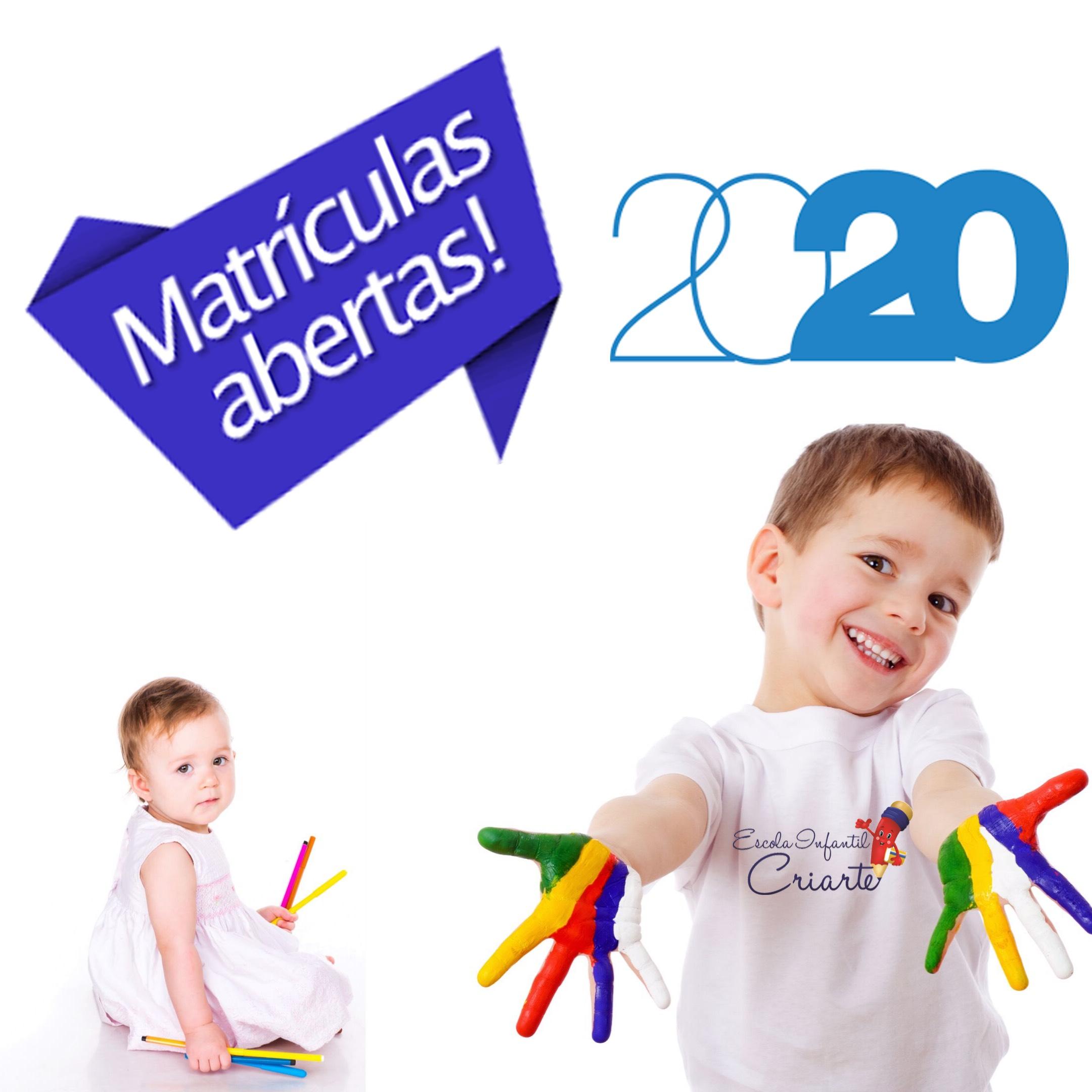 MATRÍCULAS 2020!