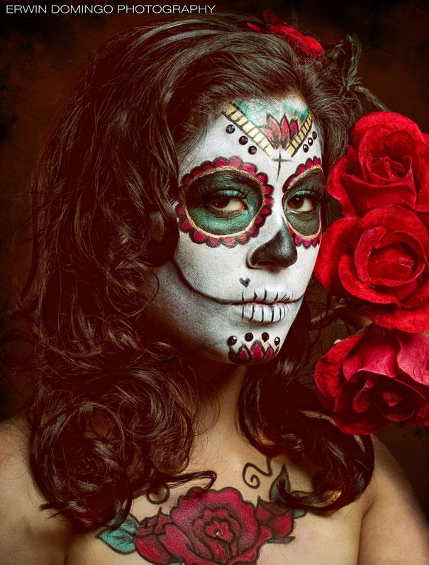 Cute Jester Girl Wallpaper Maquiagem Art 237 Stica No Dia Dos Mortos No M 233 Xico