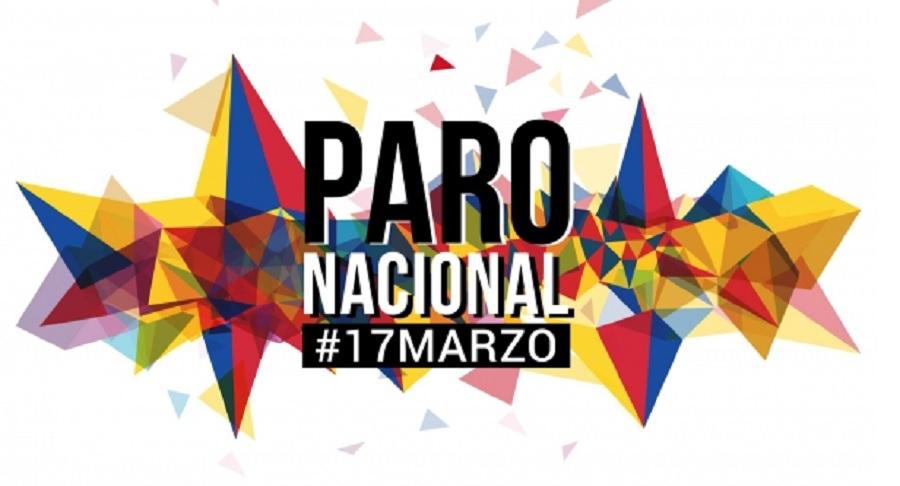 Carta al Presidente de Colombia, este 17 de marzo calentamos motores al PARO CÍVICO