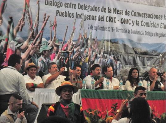 Comunidades del Cauca en expectativa de los diálogos entre la comisión de paz de la Habana y el movimiento indígena
