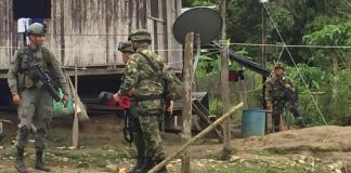 El Ejército intensificó labores de seguridad en zonas de litoral nariñense. Foto: Archivo EL TIEMPO