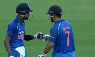 Hardik Pandya and MS Dhoni