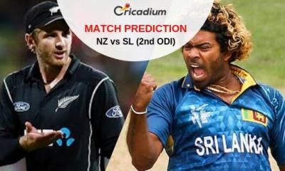 New Zealand vs Sri Lanka 2nd ODI Match Prediction