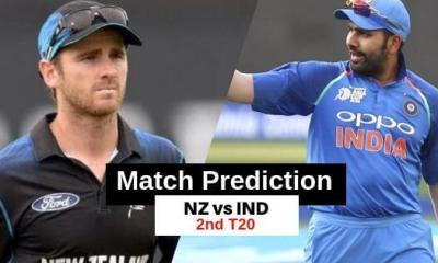 India vs New Zealand 2nd T20 Match Prediction