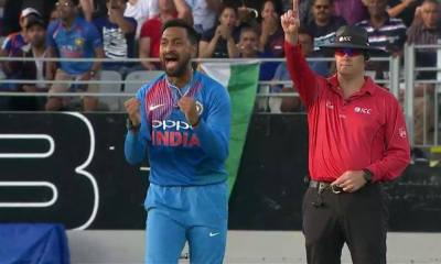Krunal Pandya helped India level the series