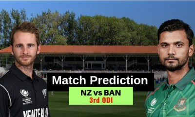 New Zealand vs Bangladesh, 3rd ODI, Match Prediction