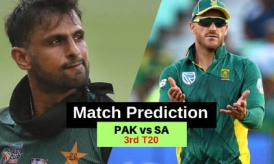 South Africa vs Pakistan 3rd T20 Match Prediction