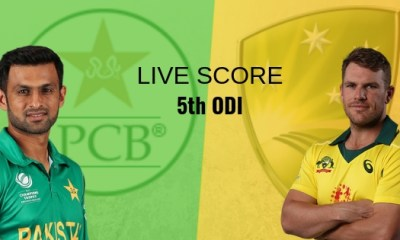 PAK vs Aus 5th ODI Live Score: Pakistan vs Australia Live Cricket Score