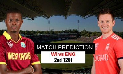 WI vs ENG, 2nd T20I,MATCH PREDICTION
