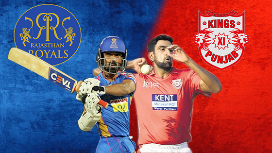 IPL 2019 Match 4 RR vs KXIP Live Score, Scorecard & Results