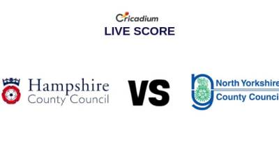 County Cricket 2019 Hampshire vs Yorkshire Live Cricket Score