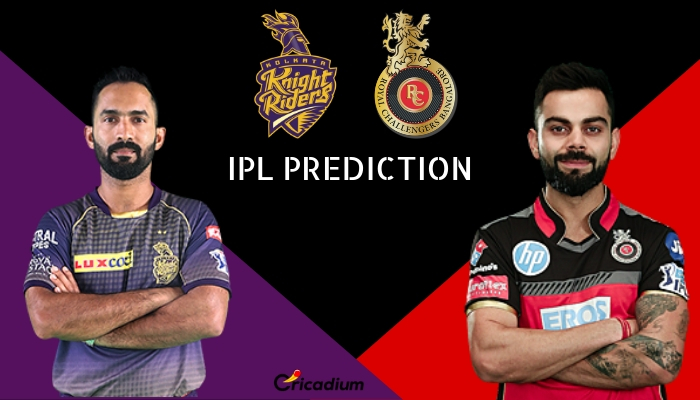 IPL 2019 Match 35, KKR vs RCB Match Prediction