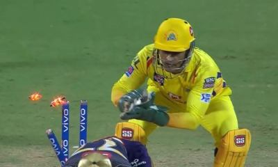 IPL 2019: Faster than 4G, MS Dhoni Inflicts Another Quick Stumping