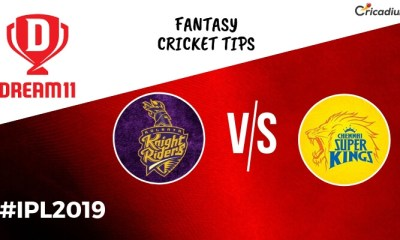Dream 11 Prediction Today IPL Match 2019 KKR vs CSK Fantasy Cricket Tips and Predicted XI