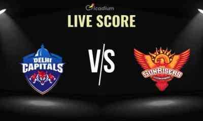 IPL 2019 Live Cricket Score: Eliminator DC vs SRH Live Score ball by ball