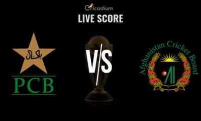 PAK vs AFG 1st Warm-up Match Live Score: Pakistan vs Afghanistan Live Cricket Score