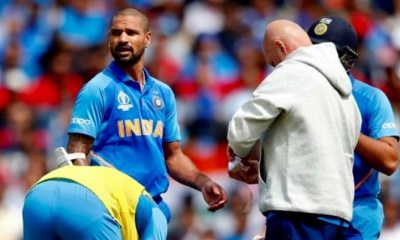 Shikhar Dhawan Ruled Out of World Cup