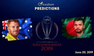 ICC World Cup 2019 Match 26 Aus vs Ban Match Prediction Who Will Win