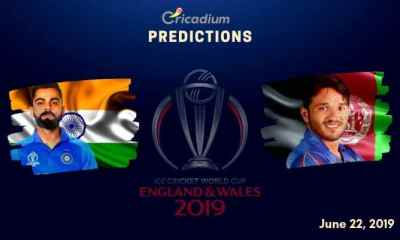 ICC World Cup 2019 Match 28 India vs Afghanistan Match Prediction Who Will Win Today
