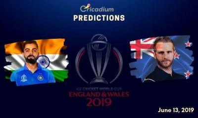 ICC World Cup 2019 Match 18 India vs New Zealand  Match Prediction Who Will Win Today
