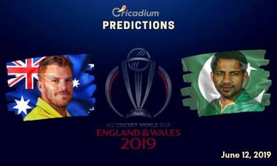 ICC World Cup 2019 Match 17 Aus vs Pak Match Prediction Who Will Win