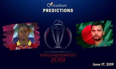 ICC World Cup 2019 Match 23 West Indies vs Bangladesh Match Prediction Who Will Win Today
