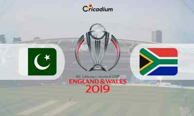 World Cup 2019 Match 30 PAK vs SA Live Score: Pakistan vs South Africa Live Cricket Score