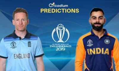 ICC World Cup 2019 Match 38 England vs India Match Prediction Who Will Win Today