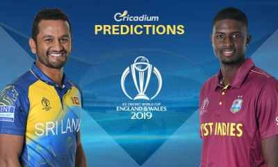 ICC World Cup 2019 Match 39 Sri Lanka vs West Indies Match Prediction Who Will Win Today