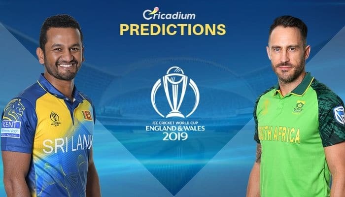 ICC World Cup 2019 Match 35 Sri Lanka vs South Africa Match Prediction Who Will Win Today