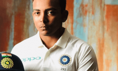 Prithvi Shaw banned for eight months for doping violation