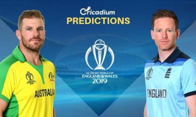 ICC World Cup 2019 Semi-Final 2 Australia vs England Match Prediction Who Will Win Today