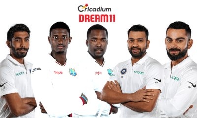 India tour of West Indies, 2019 2nd Test WI vs IND Dream 11 Team