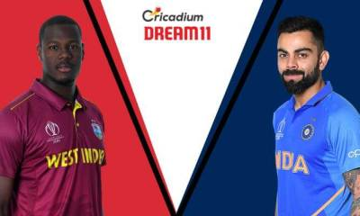 India tour of West Indies, 2019 1st T20I WI vs IND Dream 11 Team