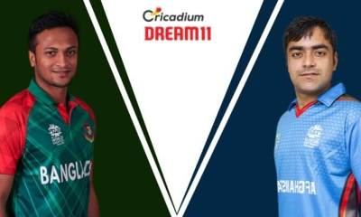 Bangladesh Tri-Series 2019 3rd Match BAN vs AFG Dream 11 Team