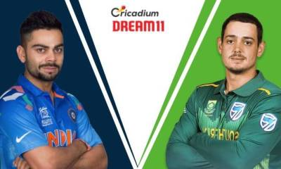 South Africa tour of India 2019 1st T20I IND vs SA Dream 11 Team