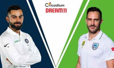South Africa tour of India, 2019 1st Test IND vs SA Dream 11 Team