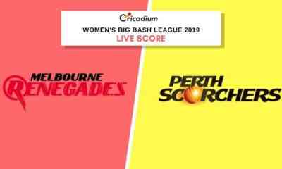 WBBL 2019: Women's BBL Match 8 MLRW vs PRSW Live Cricket Score