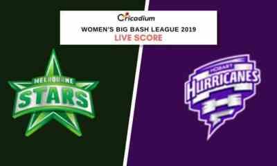 WBBL 2019: Women's BBL Match 6 MLSW vs HBHW Live Cricket Score