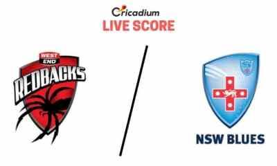 Sheffield Shield 2019-20 8th Match South Australia vs New South Wales Live Cricket Score