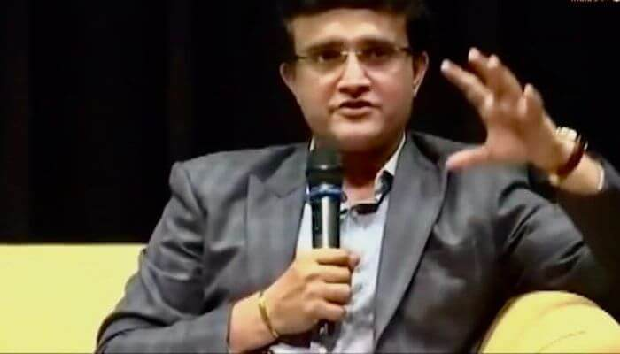 Sourav Ganguly with his new team wishes to work effectively