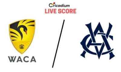 Sheffield Shield 2019-20 6th Match Western Australia vs Victoria Live Cricket Score