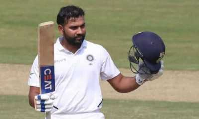 Rohit Sharma smashes a century on his debut as a Test opener
