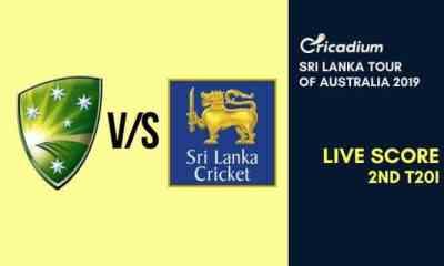 Sri Lanka tour of Australia 2019 2nd T20I Australia vs Sri Lanka Live Cricket Score