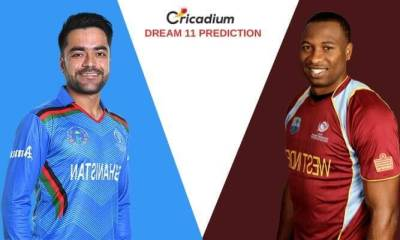Afghanistan vs West Indies in India, 2019 3rd ODI AFG vs WI Dream 11 Team