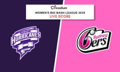 WBBL 2019: Women's BBL Match 31 HBHW vs SYSW Live Cricket Score